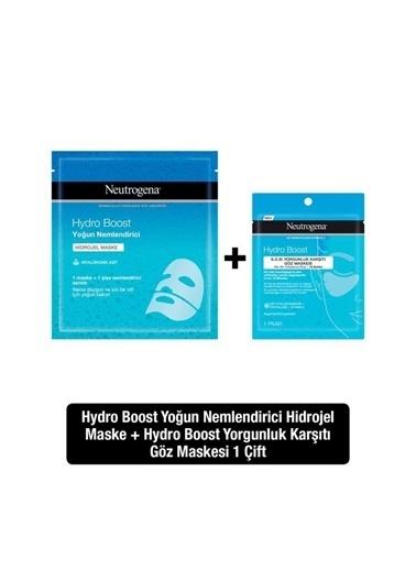 Neutrogena Hydro Boost Yoğun Nemlendirici Hidrojel Maske + Yorgunluk Karşıtı Hidrojel Göz Maskesi Renksiz